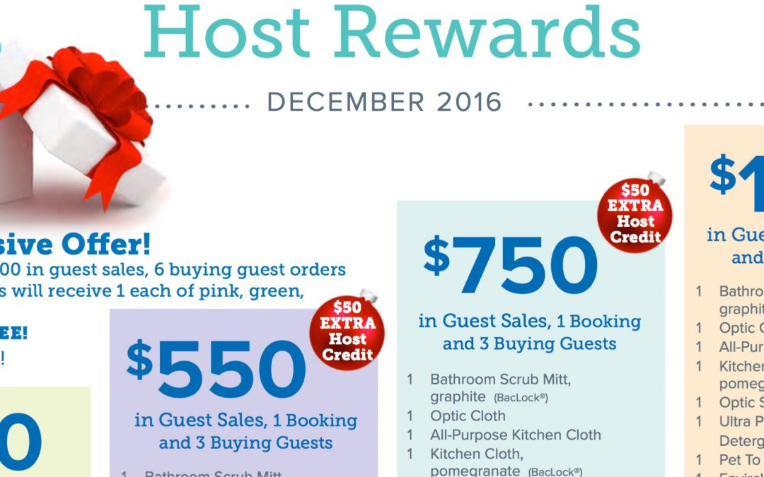 Be a Norwex event host, reap BIG gifts in December