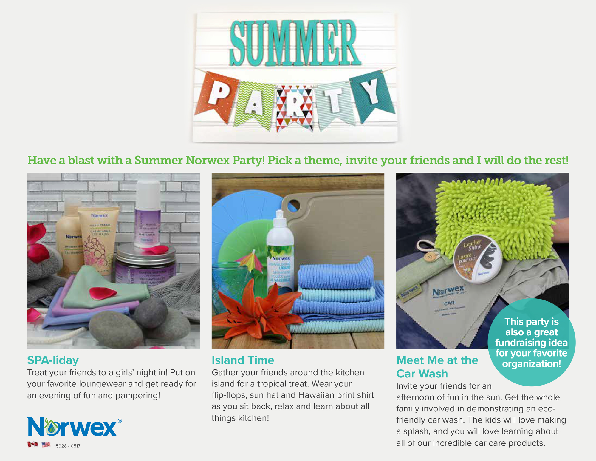 Have a Summer Norwex Party! - Norwex Products