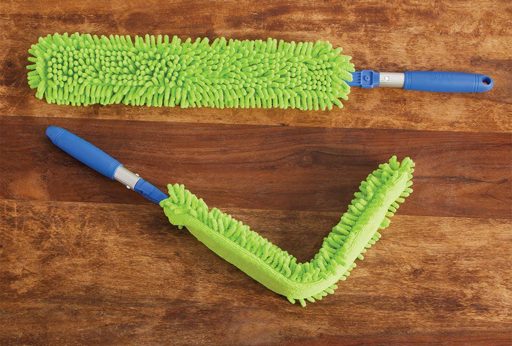 Norwex's versatile EnviroWand, a must-have cleaning tool for hard-to-reach surfaces