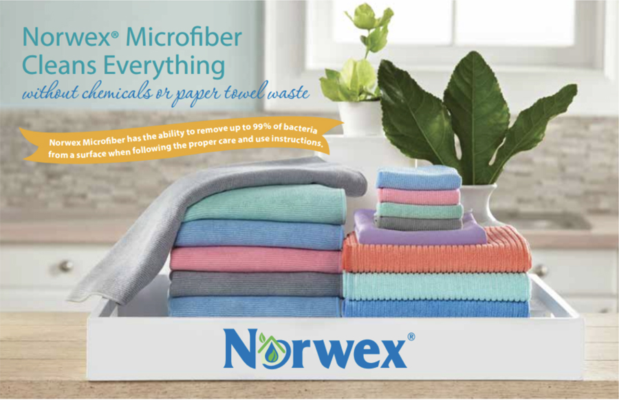 Everything you want to know about Norwex Microfibers