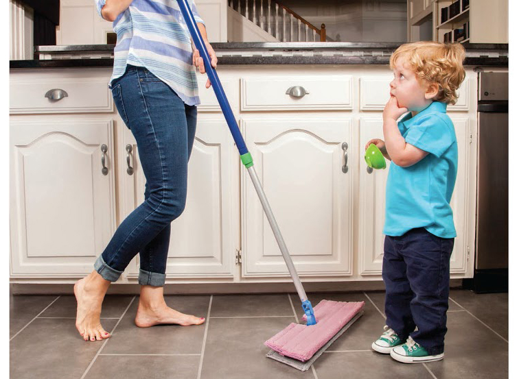 Norwex's magical mop system to the rescue
