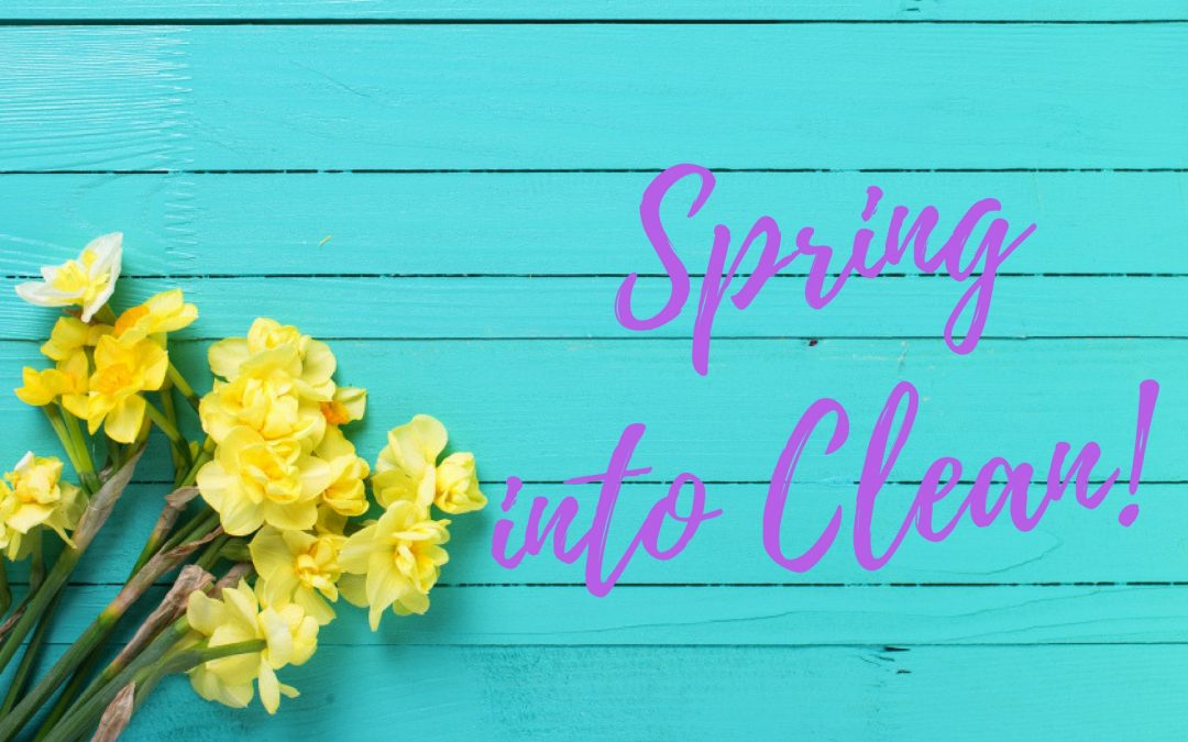 Your spring cleaning check list