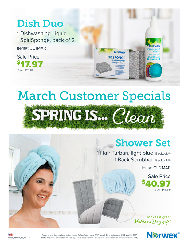Jump Into Spring With These Dynamic Duos Norwex Products