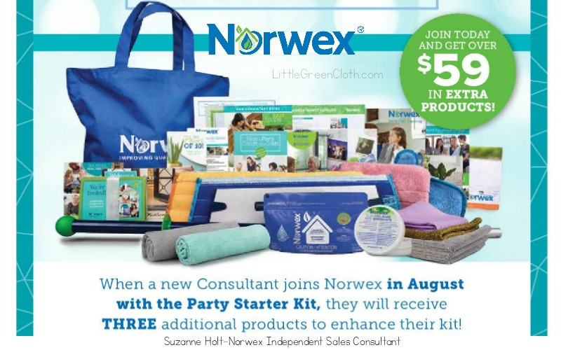 August is a Great Time to Join Our Norwex Team