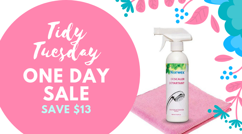 Tidy Tuesday One Day Sale!
